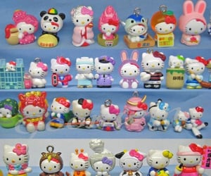 cyber, hello kitty, and sanrio image