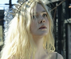 celeb, Elle Fanning, and princess image