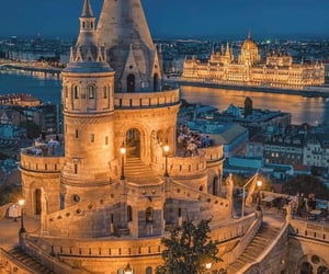 hungary, budapest, and architecture image