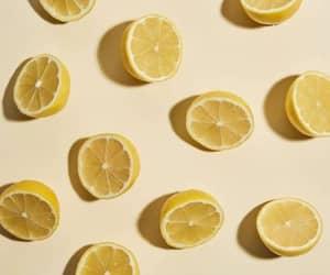 lemon, yellow, and pastel image