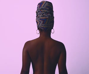 headwrap, spiritual, and piercing image