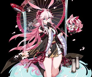anime, anime girl, and yae image
