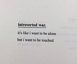 quotes, alone, and introvert image