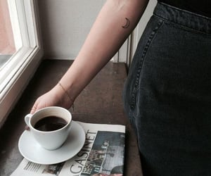 tattoo, coffee, and ink image