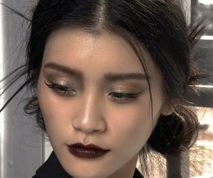 makeup, model, and ming xi image