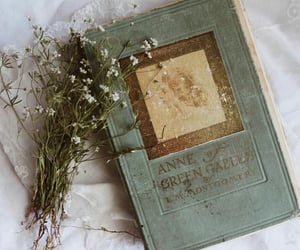 book, anne of green gables, and vintage image