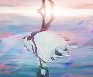 digital art, cai cai, and violet evergarden image