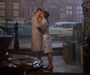 rain, love story, and breakfast at tiffany image