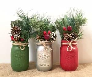 christmas, christmas decorations, and diy decor image