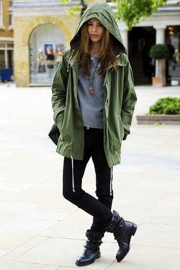 Inspiration | Army Boots
