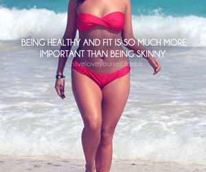 healthy, fit, and body image