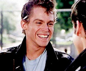 danny, kenickie, and gif image