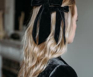 bow, fashion, and hair image