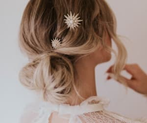 fashion, hair piece, and style image