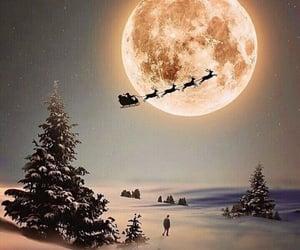 christmas, winter, and santa image