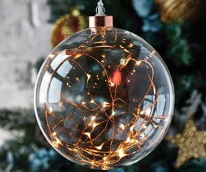christmas and baubles image