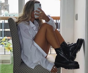 doc martens, fashion, and girl image