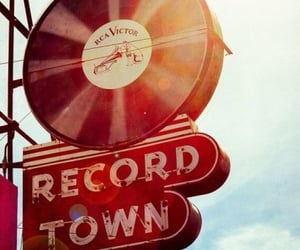 records, retro, and vintage image