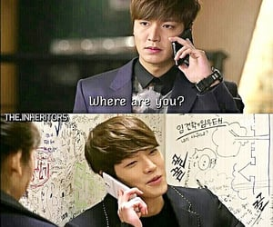 funny, love, and the heirs image