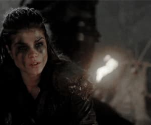 gif, blodreina, and marie avgeropoulos image