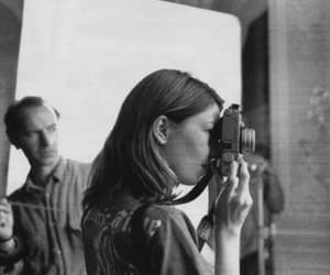 Sofia Coppola, black and white, and photography image