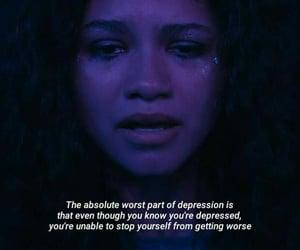 depressed, depression, and euphoria image