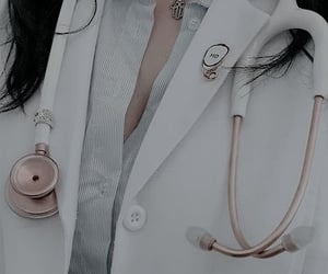 aesthetic, college, and doctor image