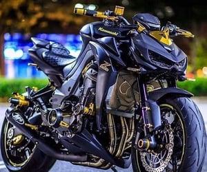 machine, motorcycle, and kawasaki. z1000 image
