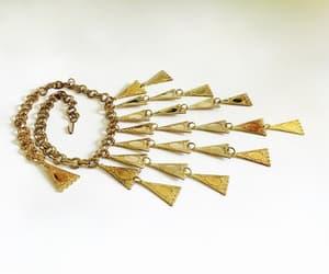 art deco, gold plated, and art noveau image
