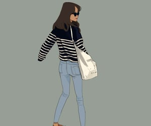 desing, drawing, and outfit image