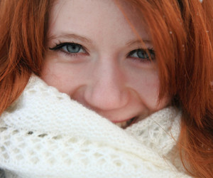 auburn, red, and red head image