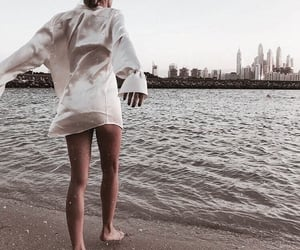 beach, city, and fashion image