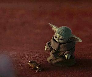 star wars and baby yoda image
