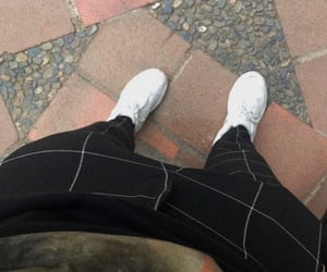 ootd, blackandwhite, and tumblrboy image