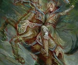 courage, link, and the legend of zelda image