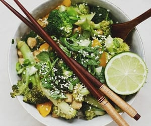 edamame, fruit, and healthy image