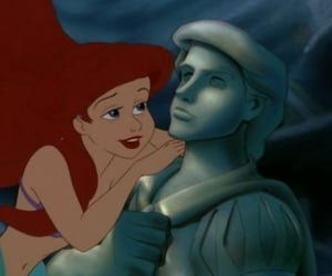 ariel, the little mermaid, and disney image