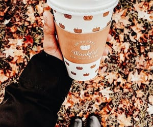 adventure, autumn, and coffee image