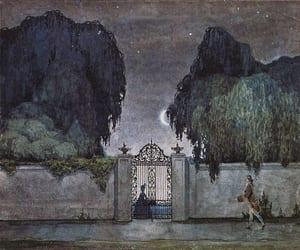 night, art, and dark image