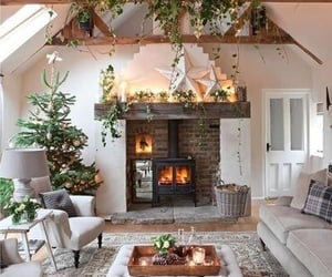 christmas, home, and decoration image
