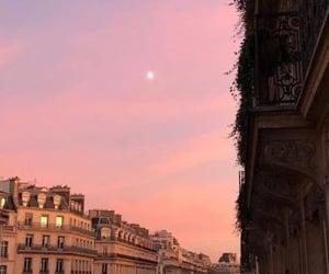 sky, city, and paris image