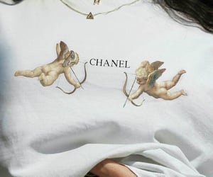 aesthetic, chanel, and angel image