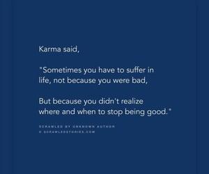 experience, friendship, and karma image
