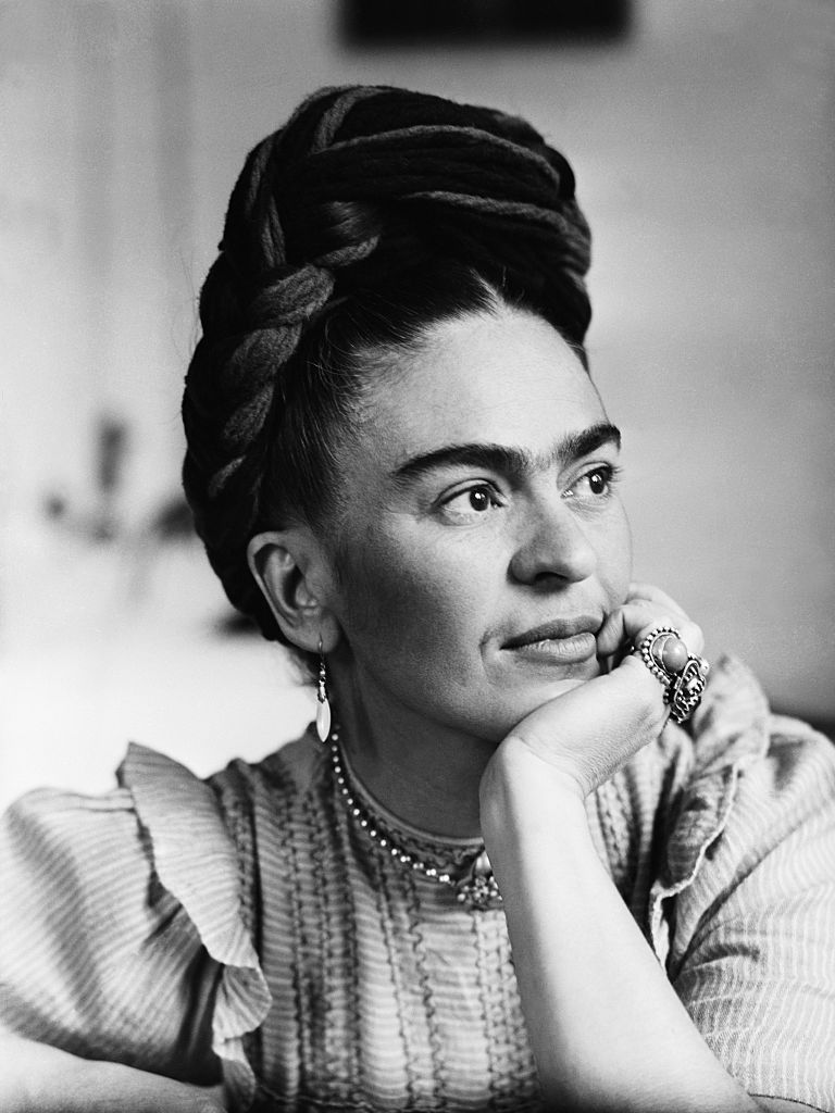art, frida kahlo, and painting image