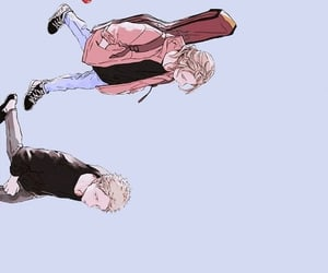 anime, background, and boys image