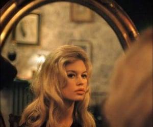 brigitte bardot, mirror, and blonde image