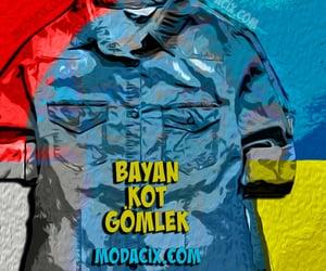 fashion, jean, and gömlek image