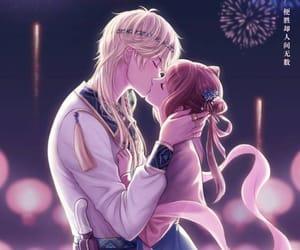 boy, girl, and anime image