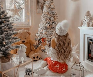 christmas, christmas tree, and fashion image