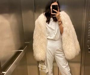 bulgari, coat, and white image